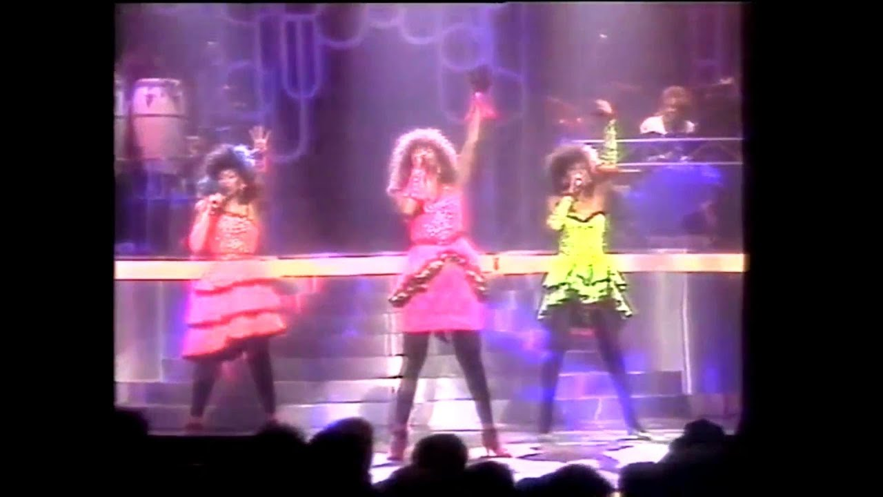 The Pointer Sisters - Live in Paris (1985)
