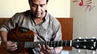 Susmit Sen from Indian Ocean endorses Taylor Guitars (T5 Model)
