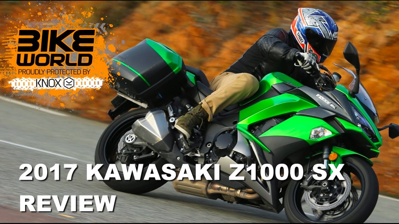 2017 Kawasaki Z1000sx Review Reload Form Bike World Show Youtube