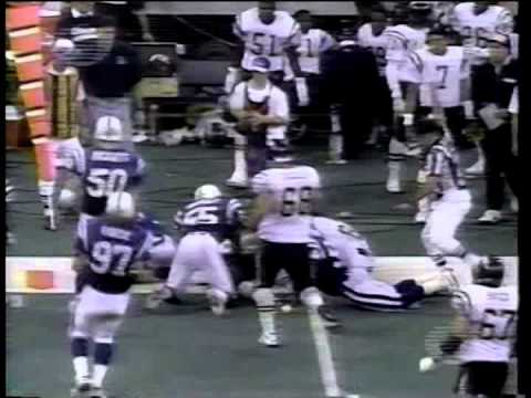Chargers vs. Colts (Espanol), 1993