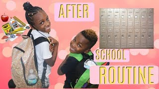 Our After School Routine- Yaya and Dj.. Subscribe for more super co...