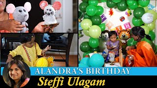 Alandra Birthday Vlog in Tamil | Decorating for Alandra's birthday