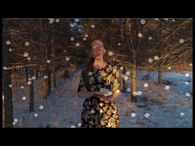 Изображение предпросмотра прочтения – АнастасияВинникова читает произведение «Чародейкою Зимою…» Ф.И.Тютчева