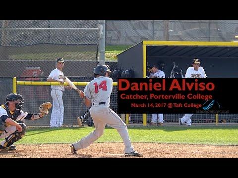 Daniel Alviso, C, Porterville College — March 14, 2017