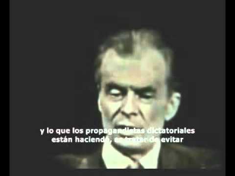 Aldous Huxley profetizando en 1958 sobre las dictaduras tecnológicas presentes