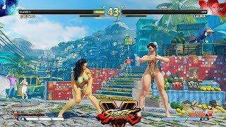 Street Fighter V AE Chun Li vs Laura PC Mod #2