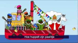 Sinterklaasliedjes van vroeger - Zie ginds komt de stoomboot