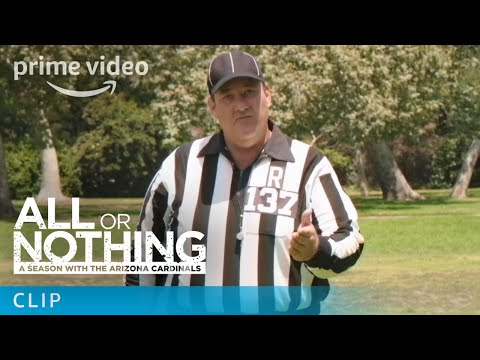 Flula Borg and Brian Baumgartner - Touchdown Celebration Rules | All or Nothing | Amazon Video