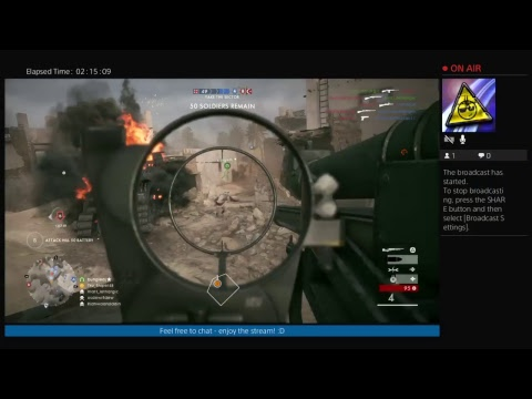Battlefield 1 Live 7 9 Pm GMT EVERY DAY 3 5pm EST