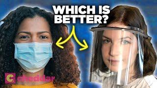 Are Face Shields Better Than Masks For Coronavirus? - Cheddar Explains