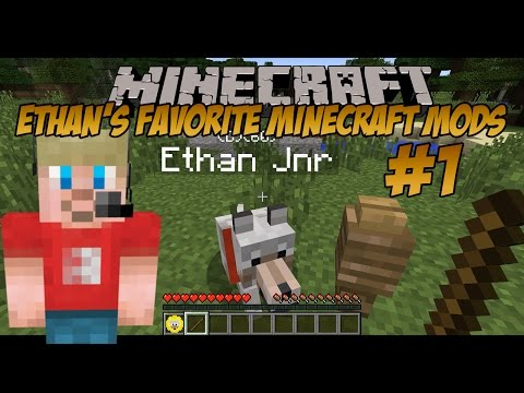 Ethan's Favorite Minecraft Mods (#1) | Doggy Talents Mod (KID GAMING)