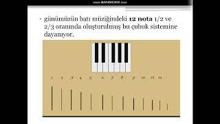 Nafiz KAYHAN  Beyza YAVUZ....... Matematik ile Müzik Arasındaki İlişki (1)