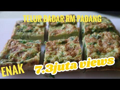 Telur Dadar Khas Padang // Telur Dadar Padang Yang Tebal Dan Gurih // Resep Masakan Padang