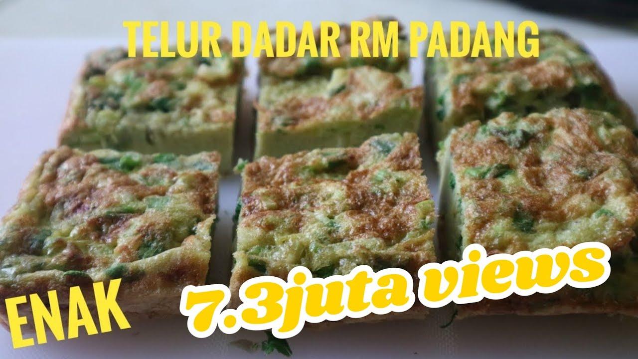 Telur Dadar Khas Padang Telur Dadar Padang Yang Tebal Dan Gurih Resep Masakan Padang