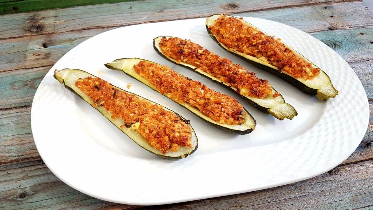 Ricette zucchine tonde ripiene senza carne