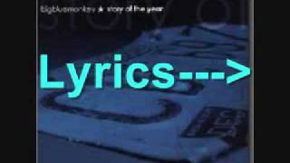 Big Blue Monkey (Story Of The Year) - Light Years Away - Lyrics