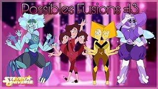 Steven Universe-Possibles Fusions #13 (Fanart's)
