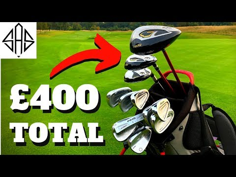 MY CHEAP GOLF CLUBS AT A VERY EXCLUSIVE GOLF DAY