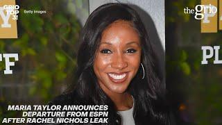 Maria Taylor Announces Departure From ESPN | Grio Top 3