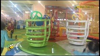 Bé Ong Vui Chơi Đầu Xuân Trong Kids City - Play funny Games In Fun Kids City