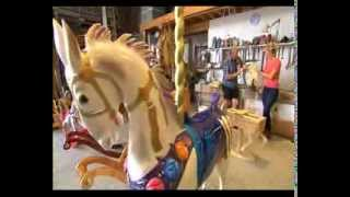 Herloom Rocking Horses, Carousel Horses, Tv Channel 7great South East