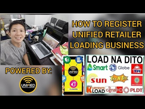 HOW TO REGISTER UNIFIED RETAILER FOR FREE LOADING BUSINESS