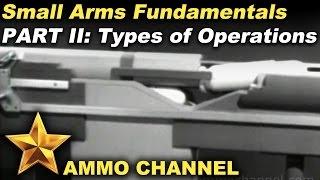 Вогнепальна зброя механіка Частина 2: типи операцій (ручна, газ, затвор, поворотна пружина)