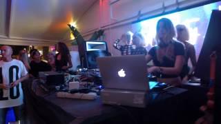 Melanie Ribbe | Hyte pre-party (Amnesia) | Tantra Beach Club Ibiza. 29.07.2015. Part 2.