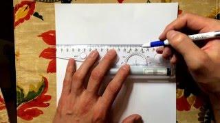 как нарисовать идеальную шестиконечную звезду (Давида)(уникальный простой и быстрый способ начертить звезду давида., 2015-12-20T23:46:16.000Z)