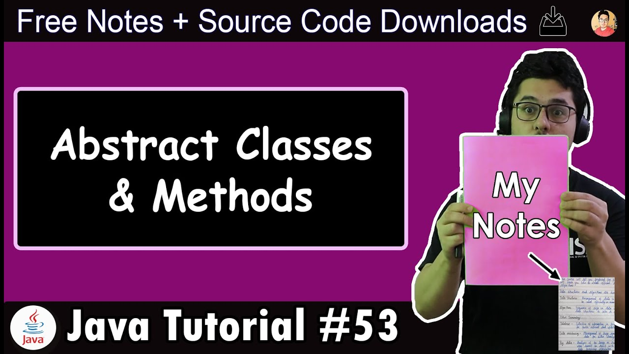 Java Tutorial: Abstract Class & Abstract Methods