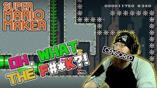 OH, WHAT THE F&*K?! - Super Mario Maker - DASHIE LEVELS, AGAIN!
