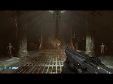 Doom Eternal Opening Scene with Classic Doom Marine Skin