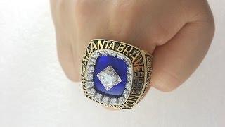 MLB 1995 Atlanta Braves World Series Championship Ring for sale