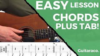 Shawn Mendes - Mutual // EASY Guitar Tutorial (Chords & TAB)