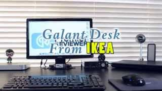 Galant Desk From Ikea - Build
