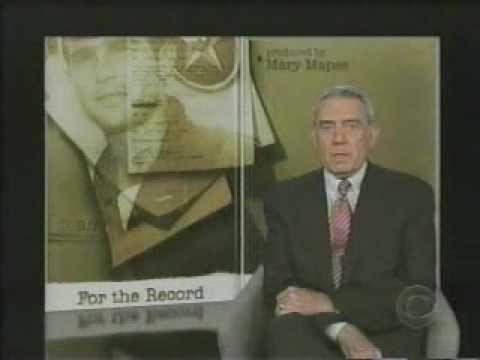 60 Minutes: For the Record: Bush Guard Memos
