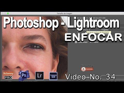 Tutorial Enfocar.Photoshop Y Lightroom # 34. PHOTOSHOP. ¿Cómo Cambiar El Tamaño?. Liclonny