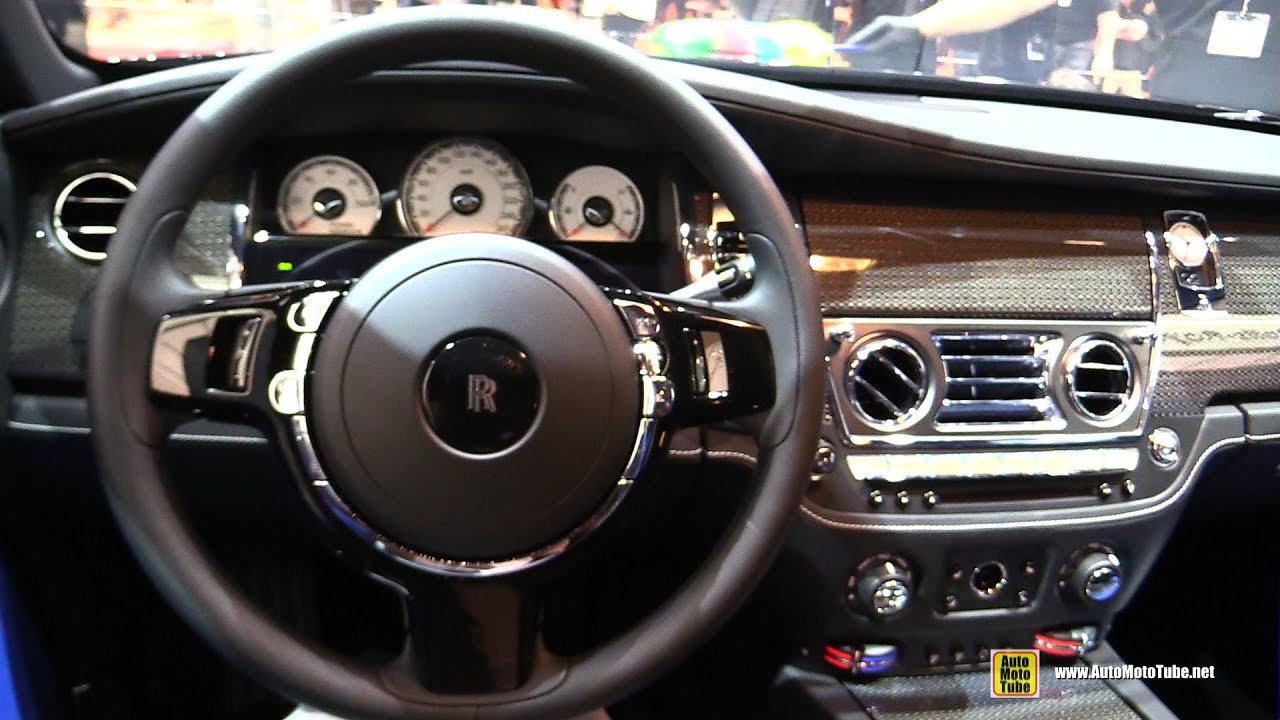 2016 rolls royce wraith black badge edition interior walkaround 2016 geneva motor show youtube. Black Bedroom Furniture Sets. Home Design Ideas
