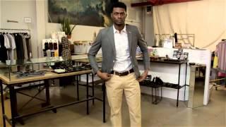 What Color Pants Match a Light Grey Suit Coat? : Menswear Magic