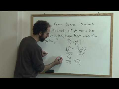 Tips on how to solve math word problems