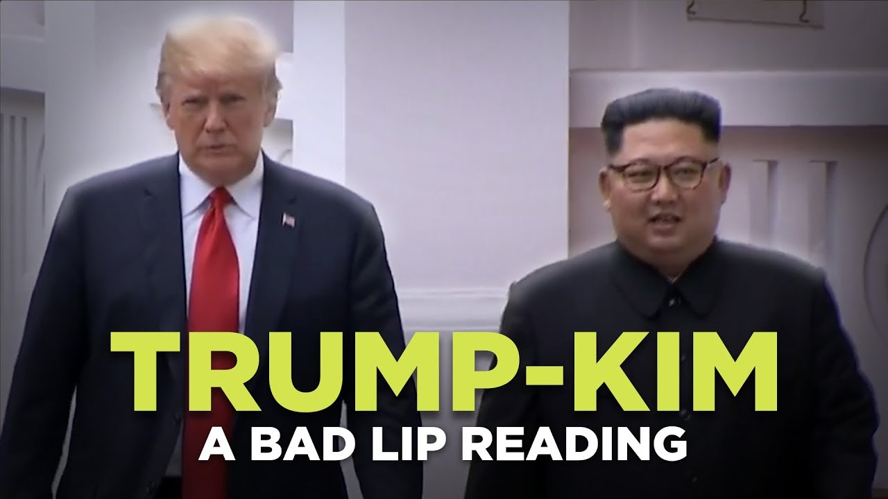 Donald Trump and Kim Jong-un bond in Singapore