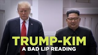 """TRUMP-KIM SUMMIT"" - A Bad Lip Reading"