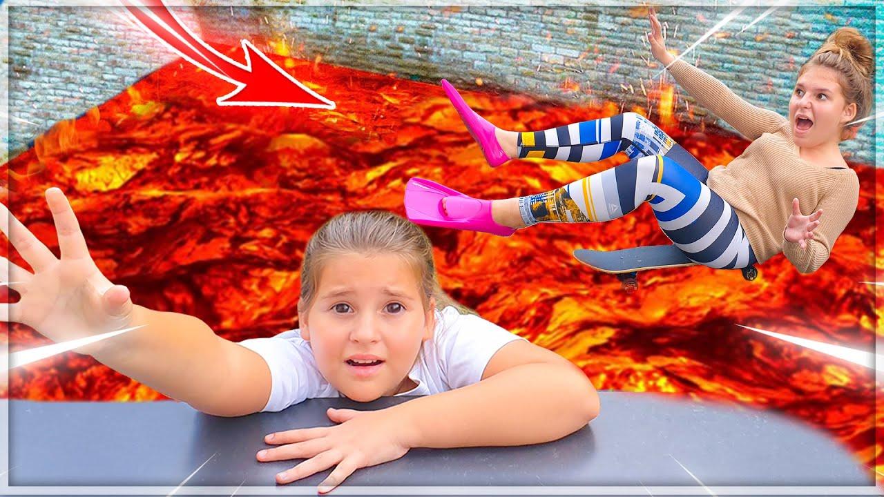 Download The Floor Is Lava Challenge | Le Sol C'est De La Lave #2