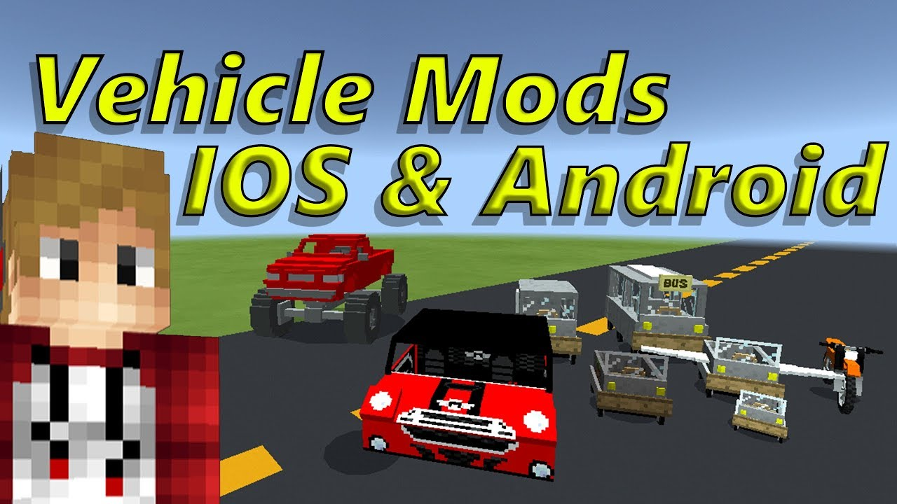 Car Addon/Mod Pack/Collection MCPE IOS Android Minecraft