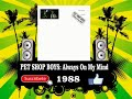 Pet Shop Boys - Always On My Mind  (Radio Version)