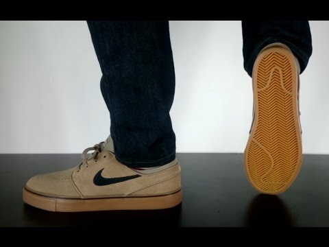 official photos bf506 36762 NIKE SB STEFAN JANOSKI khaki black gum light brown