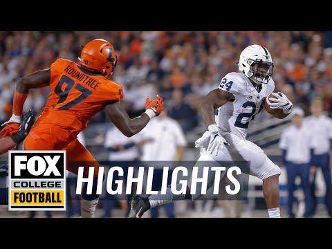 Penn State vs. Illinois | FOX COLLEGE FOOTBALL HIGHLIGHTS