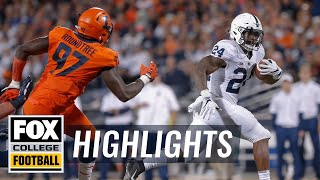 Penn State vs. Illinois | FOX COLLEGE FOOTBALL HIGHLIGHTS