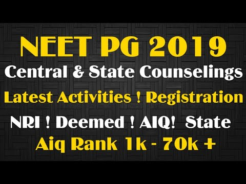 Repeat AIQ 50%/DEEMED CHOICE FILLING SUGGESTION/NEET PG 2019