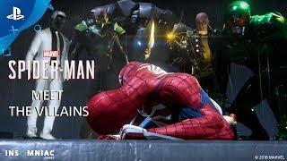 Inside Marvel's Spider-Man - Meet the Villains | PS4